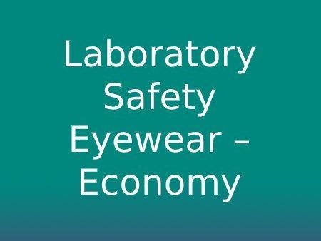 Laboratory Safety Eyewear - Economy Range