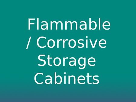 Flammable / Corrosive Storage Cabinets